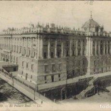 Postales: MADRID. Nº 5, EL PALACIO REAL. EDIC. LL. CIRCULADA 1912. Lote 221609497