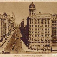 Postales: MADRID. AVENIDA DE PI Y MARGALL. EDICIÓN HELIOGRÁFICA ESPAÑOLA. Lote 221614020