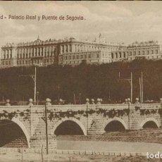 Postales: MADRID. Nº 9, PALACIO REAL Y PUENTE DE SEGOVIA. EDICIÓN EXTRA MADRID. Lote 221614346