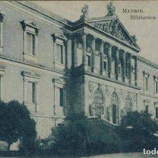 Postales: MADRID. BIBLIOTECA NACIONAL. FOTOTIPIA J. ROIG. Lote 221614480
