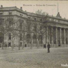 Postales: MADRID. BOLSA DE COMERCIO. FOTOTIPIA J. ROIG. Lote 221614540