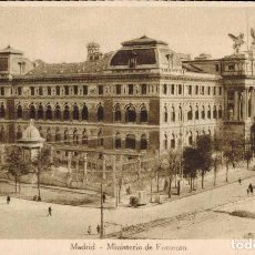 Postales: MADRID. MINISTERIO DE FOMENTO. Lote 221614986