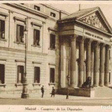 Postales: MADRID. CONGRESO DE LOS DIPUTADOS.. Lote 221615122