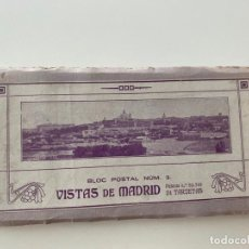 Postales: BLOC POSTAL N. 2 , VISTAS DE MADRID , LACOSTE ,. Lote 221645752