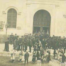 Postales: MADRID. MITIN POLITICO. HACIA 1920.CARTELES DE PUBLICIDAD POLÍTICA. Lote 221668731