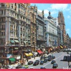 Postales: MADRID. AVENIDA JOSÉ ANTONIO. GARCÍA GARABELLA.. Lote 221887712