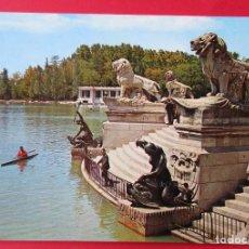 Postales: MADRID. PARQUE DEL RETIRO MONUMENTO A ALFONSO XII. GARCÍA GARABELLA.. Lote 221888558