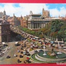 Postales: NADRID. PLAZA DE CIBELES. Y CALKLE DE ALCALÁ. GARCÍA GARABELLA.. Lote 221888693