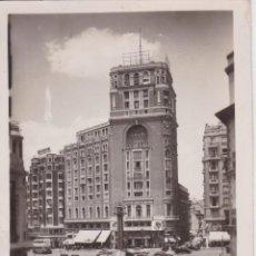 Postales: MADRID, PLAZA DEL CALLAO – EDITORES GARCIA GARRABELLA Nº115 – CIRCULADA 1954. Lote 222047273