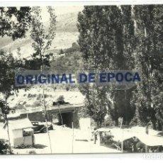Postales: (PS-63812)POSTAL DE MIRAFLORES DE LA SIERRA-PUENTE DE LA FUENTE DEL CURA Y MERENDEROS. Lote 222047846
