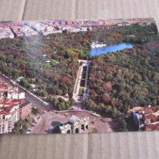 Postales: MADRID PARQUE DE EL RETIRO VISTA AEREA Nº 299. Lote 222050697