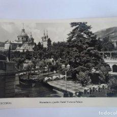 Postales: ANTIGUA POSTAL FOTOGRÁFICA, EL ESCORIAL ,VER FOTOS. Lote 222056393