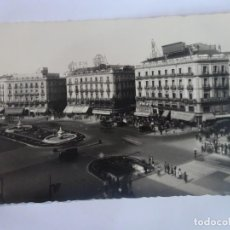 Postales: ANTIGUA POSTAL FOTOGRÁFICA, MADRID, PUERTA DEL SOL, VER FOTOS. Lote 222059936