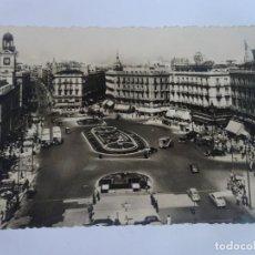 Postales: ANTIGUA POSTAL FOTOGRÁFICA, MADRID, PUERTA DEL SOL, VER FOTOS. Lote 222067120
