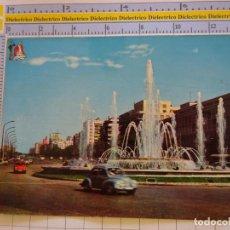 Postais: POSTAL DE MADRID. AÑO 1965.AVENIDA DEL GENERALÍSIMO. BEASCOA. SEAT 600. 1395. Lote 222292152