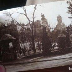 Postales: POSTAL MADRID AÑOS 20 PASEO DE RECOLETOS. Lote 222524295