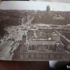 Postales: POSTAL MADRID AÑOS 20 VISTA DESDE BELLAS ARTES. GRAN VÍA CIBELES. Lote 222524865