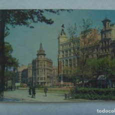 Postales: POSTAL DE BARCELONA : PLAZA DE LA UNIVERSIDAD . AÑOS 50 . COLOREADA. Lote 222713260