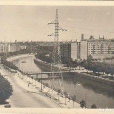Cartes Postales: FOTO AVENIDA MANZANARES AÑOS 60.MADRID. Lote 222715683