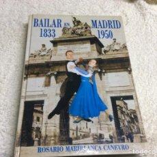 Postales: BAILAR EN MADRID. LIBRO. Lote 222922265