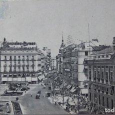 Postales: P-11693. MADRID. PUERTA DEL SOL. AÑOS 50 . CIRCULADA.. Lote 222931545