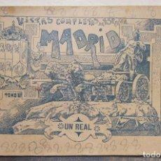 Postales: BLOC. MADRID. 24 VISTAS DE ESPAÑA. TOMO 2º. VICTOR Y COMPAÑIA. AGENCIA PERIODISTICA. BARCELONA. Lote 223310741