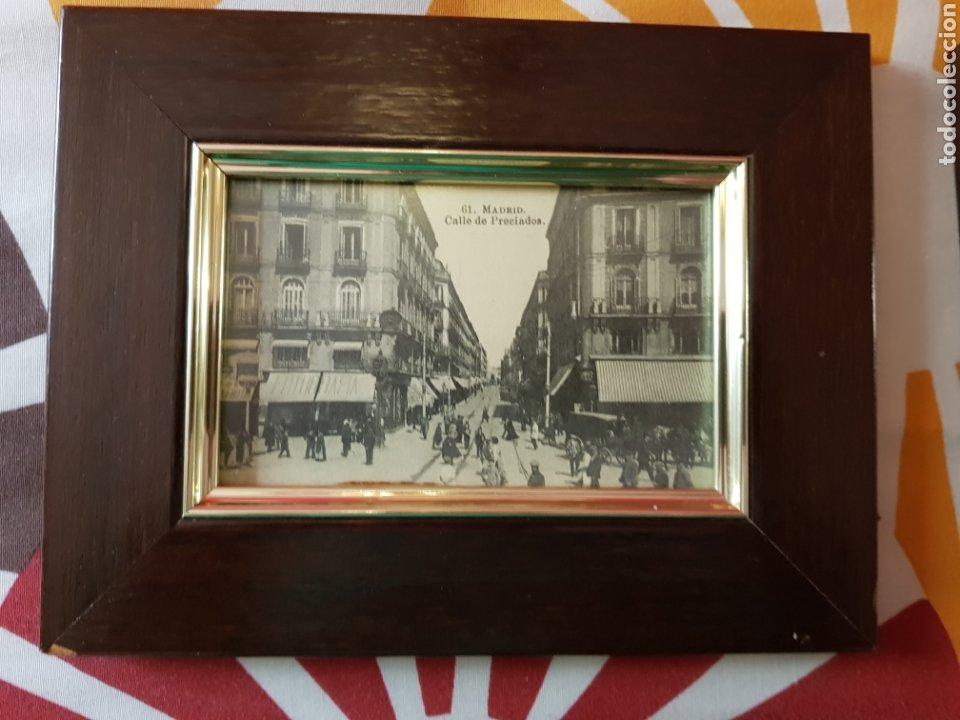 Postales: 4 postales antiguas de madrid enmarcadas - Foto 5 - 223667191