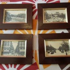 Postales: 4 POSTALES ANTIGUAS DE MADRID ENMARCADAS. Lote 223667191