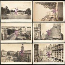 Postales: LOTE 6 ANTIGUAS POSTALES DE MADRID SIN CIRCULAR VER TODAS EN FOTOGRAFIAS. Lote 223911903