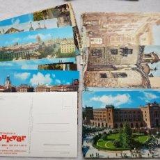 Postales: LOTED E 11 POSTALES MADRID PUBLICIDAD EL BULEVAR DIFERNETES PINTURA. Lote 224071068
