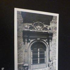 Cartoline: ALCALA DE HENARES MADRID PALACIO OBISPAL HOY ARCHIVO DETALLE DE UNA VENTANA ED. LOTY. Lote 224226785