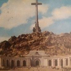 Postales: POSTAL MADRID SANTA CRUZ DEL VALLE DE LOS CAÍDOS. Lote 224418413