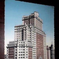 Cartoline: Nº 40517 POSTAL MADRID EDIFICIO ESPAÑA. Lote 224644296