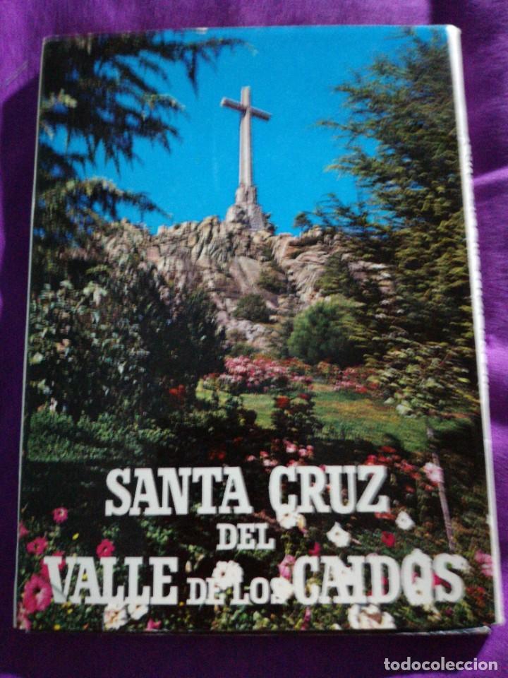 LIBRO 8 POSTALES DE LA SANTA CRUZ DEL VALLE DE LOS CAÍDOS (Postales - España - Madrid Moderna (desde 1940))