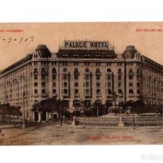 Postais: MADRID.- HOTEL PALACE.. Lote 225206727