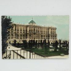 Postales: PALACIO NACIONAL, SERIE MADRID Nº 13, FOTO LLOPIS, FOTO RELIEVE. Lote 225593635