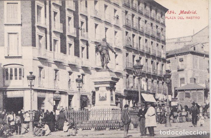 MADRID - PLAZA DEL RASTRO - FOT. J. LACOSTE (Postales - España - Comunidad de Madrid Antigua (hasta 1939))