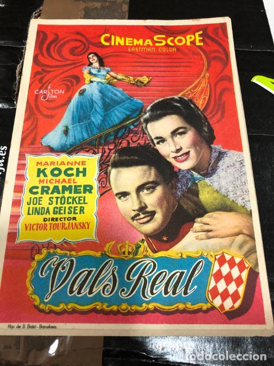 VALS REAL DE LA MARCA CINEMASCOPE (Postales - España - Comunidad de Madrid Antigua (hasta 1939))