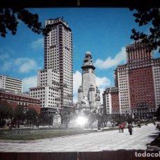 Cartoline: Nº 41439 POSTAL MADRID PLAZA DE ESPAÑA. Lote 227458600
