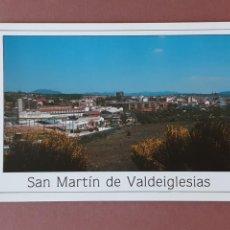 Postales: POSTAL 3 COMERCIAL ARAGONÉS. PANORÁMICA. SAN MARTÍN DE VALDEIGLESIAS. MADRID. 1993. SIN CIRCULAR.. Lote 227759915