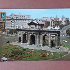 Postales: POSTAL 139 DOMÍNGUEZ PUERTA DE ALCALÁ MADRID 1968 .SIN CIRCULAR. II REUNIÓN UNIVERSITARIA ATLETISMO.. Lote 228008285