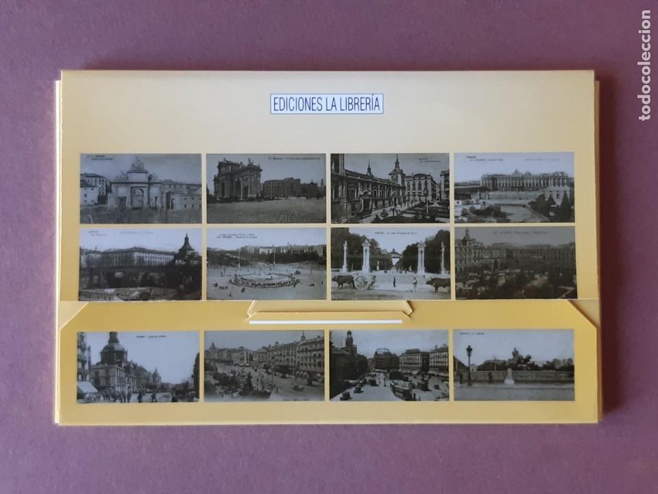 Postales: ESTUCHE COLECCIÓN DE 12 POSTALES ANTIGUAS DE MADRID. EDICIONES LA LIBRERÍA 1986-1996. SIN CIRCULAR. - Foto 2 - 228015840