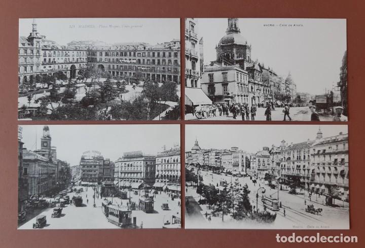 Postales: ESTUCHE COLECCIÓN DE 12 POSTALES ANTIGUAS DE MADRID. EDICIONES LA LIBRERÍA 1986-1996. SIN CIRCULAR. - Foto 4 - 228015840
