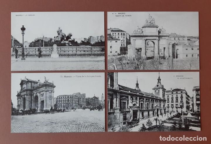 Postales: ESTUCHE COLECCIÓN DE 12 POSTALES ANTIGUAS DE MADRID. EDICIONES LA LIBRERÍA 1986-1996. SIN CIRCULAR. - Foto 5 - 228015840