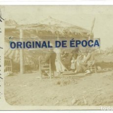 Postales: (PS-64053)POSTAL FOTOGRAFICA DESCONOCIDA-GITANOS.DIRIGIDA A ANTONIO CÁNOVAS DEL CASTILLO Y VALLEJO,. Lote 228169495