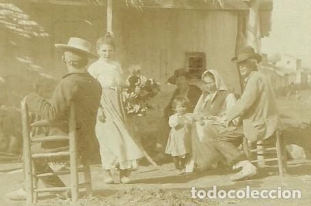 Postales: (PS-64053)POSTAL FOTOGRAFICA DESCONOCIDA-GITANOS.DIRIGIDA A Antonio Cánovas del Castillo y Vallejo, - Foto 2 - 228169495