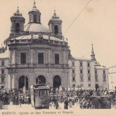 Postales: MADRID IGLESIA DE SAN FRANCISCO EL GRANDE. ED. FOTOTIPIA LACOSTE Nº 47. SIN CIRCULAR. Lote 271413778
