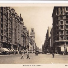 Postales: MADRID AVENIDA DE JOSE ANTONIO. ED. ARRIBAS Nº 48. SIN CIRCULAR. Lote 271414038