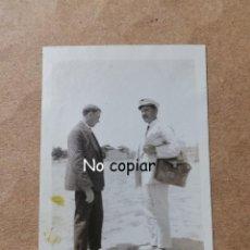 Postales: FOTOGRAFIA DEL CARTERO DE PUEBLO NUEVO, MADRID 1919, CORREOS, MIDE 7,3 X 4,8 CMS.. Lote 229112860