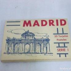Postales: BLOK DE 20 POSTALES DE MADRID HAUSER Y MENET. Lote 230076220